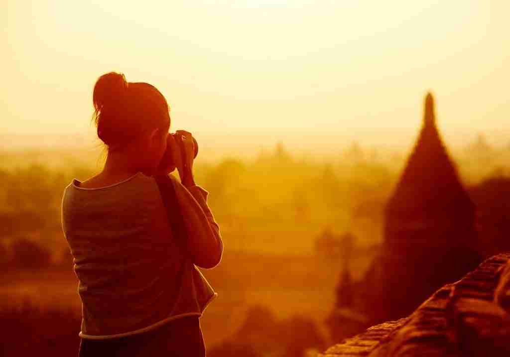 Sunset in Bagan, Myanmar, for Private Photo Tours
